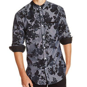 Billabong Garage Collection Floral Button Down